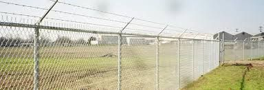Part 10 Chain link security fencing