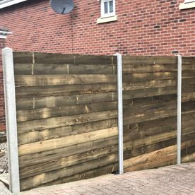Horizontal Fencing installed